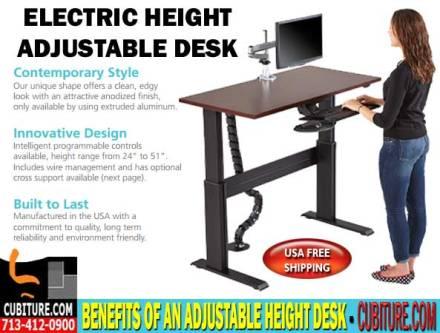 Ergonomic Adjustable Height Desk For Sale