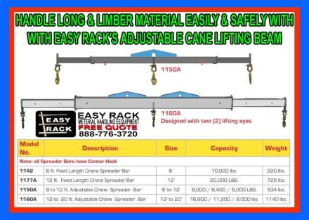 Crane Adjustable Lifting-Beam For Sale