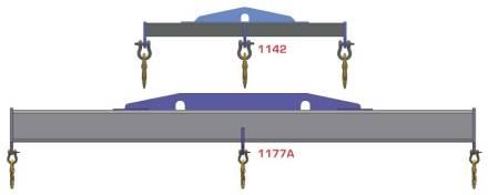 Heavy Duty Lifting Spreader Bar Crane Attachment On Sale Now