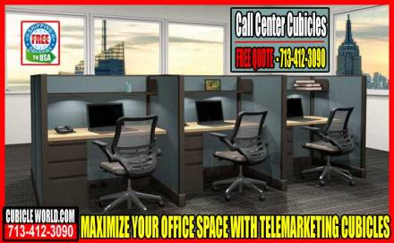 Used Call Center Cubicles - Telemarketing Cubicles On Sale Now