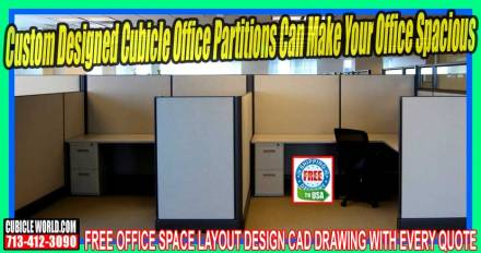 Cubicle Office Partitions On Sale Now In Katy, Texas