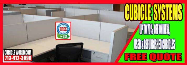 New, Refubished & UsedOffice Cubicle Systems On Sale Now