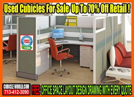 New, Used & Refurbished Cubicles For Sale In West Houston, Texas. Used Cubicle Stores Near Me.