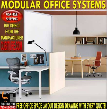 Modular Office Systems For Sale & Installation In Houston, Texas