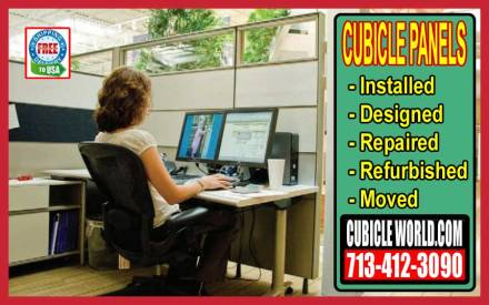 New, Used & Refurbished Cubicle Panels, Cubicle Wall Store Near Me