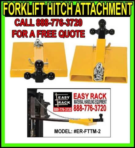 Forklift Hitch Attachment