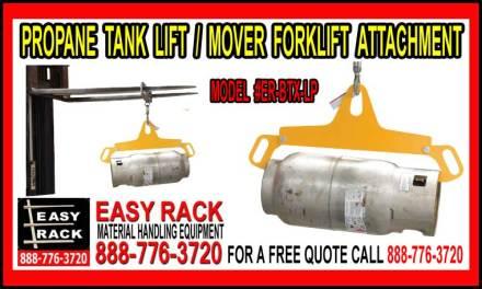 Propane Tan Lifte-Mover Forklift Attachment