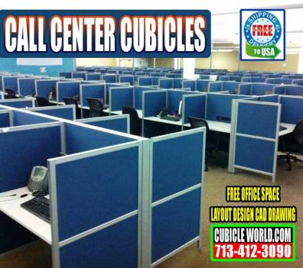 Call Center Cubicles On Sale Now In Houston, Texas
