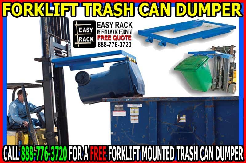 Forklift Trash Can Dumper FREE Quotation