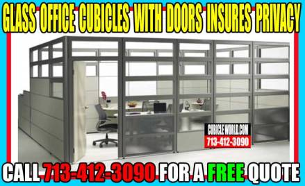 Glass Office Cubicles With Door On Sale Now. Cubicles For Sale Near Me!