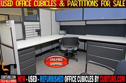 Used Office Cubicle Partitions For Sale In Pasadena, Galveston, San Antonio, Dallas & Houston, Texas