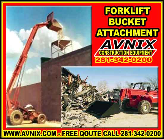 Discount Forklift Bucket Attachment For Sale Cheap