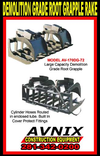 Root Discount Rake Skid Steer Attachment For Sale Cheap