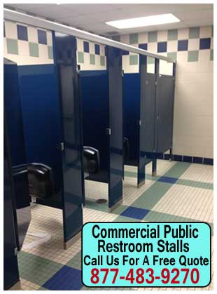 Commercial Public Restroom Stalls For Sale, Repair & Installation Services