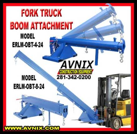 Fork Truck Boom Attachment For Sale Cheap Wholesale Prices