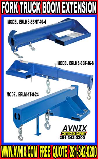 Fork Truck Boom Extensions Sale