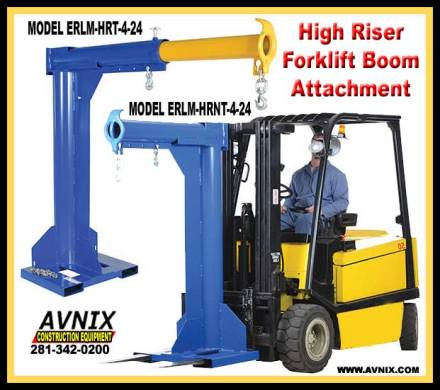Forklift Boom Extension Attachment For Sale Cheap