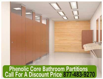 Phenolic Core Bathroom Partitions