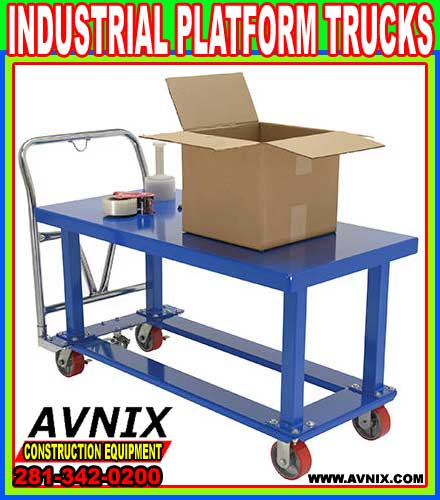 Heavy Duty Industrial Work Platforms For Sale