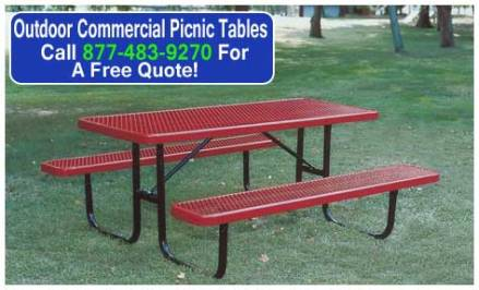 Outdoor Commercial Picnic Tables Kit For Sale Houston, Austin, Dallas Texas