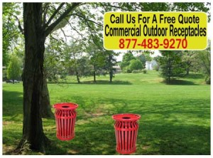 Discount Commercial Outdoor Receptacles For Sale Cheap