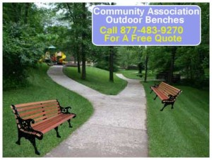 Discount Community Association Outdoor Benches For Sale AT Cheap Wholesale Prices