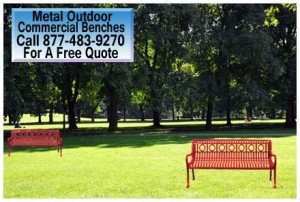 Wholesale Metal Outdoor Commercial Benches For Sale In Austin Texas
