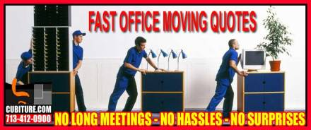 Professional Office Moving Quotes In Pasadena, Clear Lake, Galveston, The Woodlands, Energy Corridor & Katy, Texas