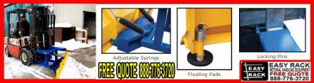 Fork Truck Snow Plow Attachment For Sale