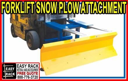 Forklif Snow Plow Attachment For Sale